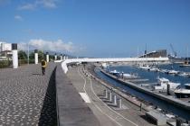 Im Hafen von Ponta Delgada