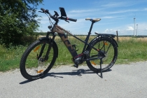 Mein funkelnagelneues Husqvarna E-Trekking Bike Cross Tourer 6