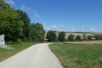 Breiter Radweg
