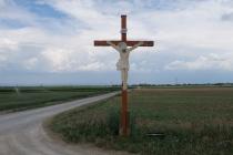 Altes Kreuz zwischen Prottes und Tallesbrunn