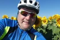 Selfie vor den Sonnenblumen