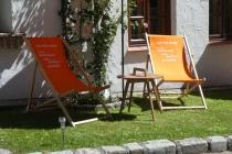 Einladende Stühle