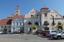 Hauptplatz im Ort Pulkau