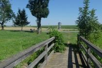 Holzbrücke nahe Roselsdorf