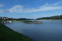 Morgenstimmung an der Donau in Hainburg