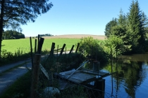Fischteich nahe Endlas