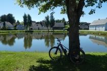 Mein Bike beim Teich in Ottenschlag