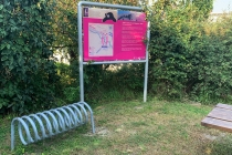 Fahrrad-Rastplatz in Markgrafneusiedl