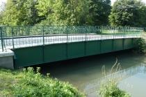 Alte Eisenbrücke in Kottingbrunn
