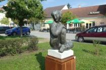 Skulptur in Park in Laa an der Thaya