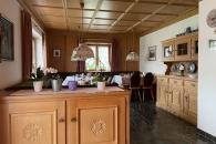 Frühstücksraum im Gästehaus Annemarie