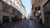 Die Landstraße in Linz
