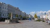 Der Hauptplatz von Linz