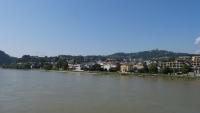 Blick auf die Donau Richtung Urfahr und Pöstlingberg