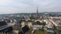 Ausblick über die Linzer Altstadt und den großen Dom