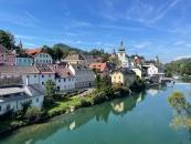 Blick auf die Altstadt von Waidhofen an der Ybbs