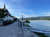 Die Donau in Ybbs